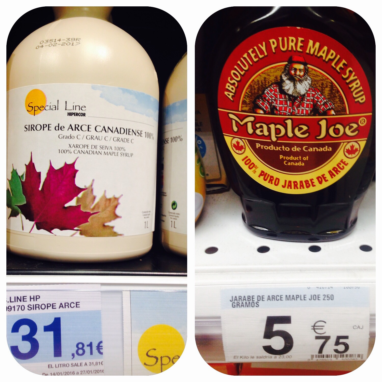 Comparativa de precios carrefour o hipercor mi lista de for Carrefour utensilios cocina