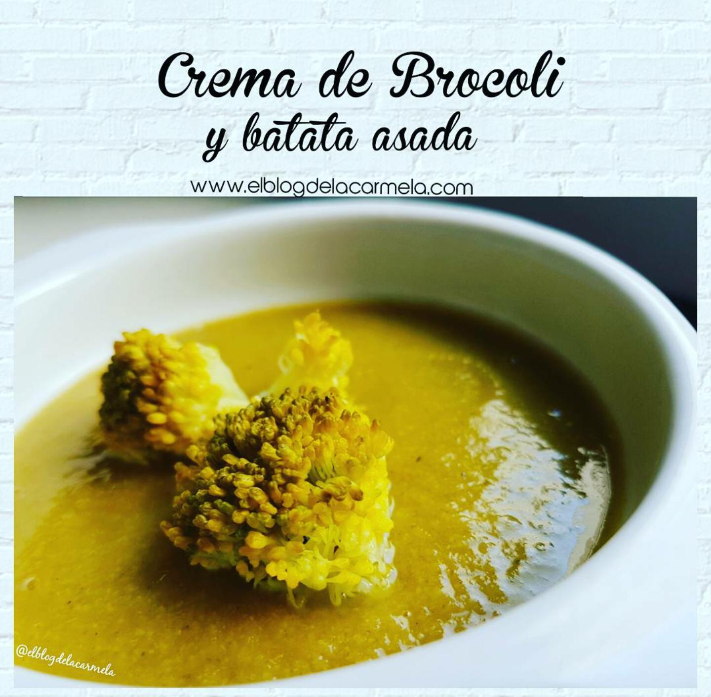 CREMA DE BROCOLI Y BATATA